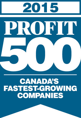 2015 Profit 500 - Canada's Fastest Growing Companies
