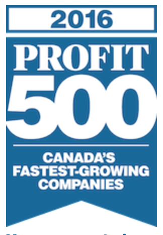 RMS Builders Inc. ranks #2 on the 2016 Profit 500