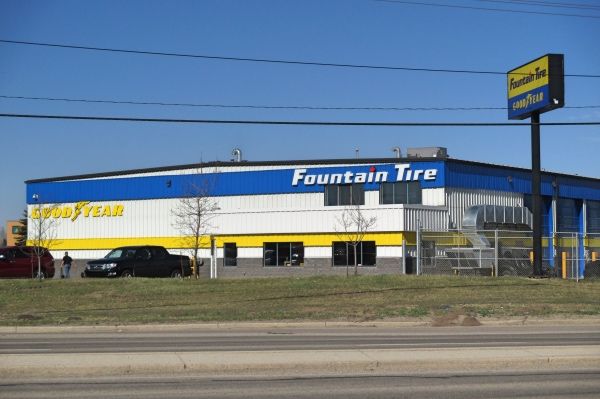 Fountain Tire Retail Construction